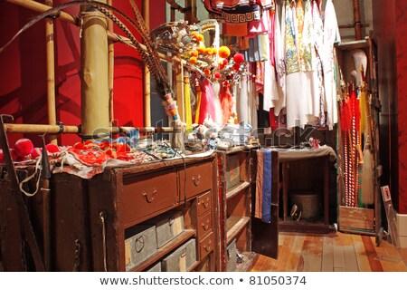 Stok fotoğraf: Chinese Opera Dressing Room