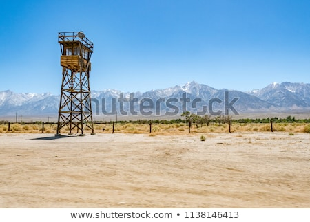 Manzanar camp Stock photo © pancaketom