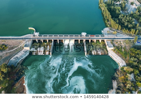 Hydroelectric dam Stock photo © maxpro