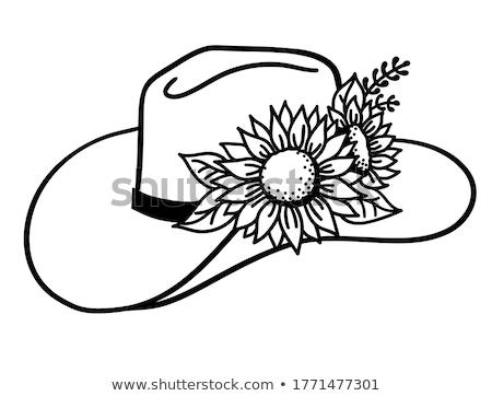 Cowgirl Hat Stock photo © piedmontphoto