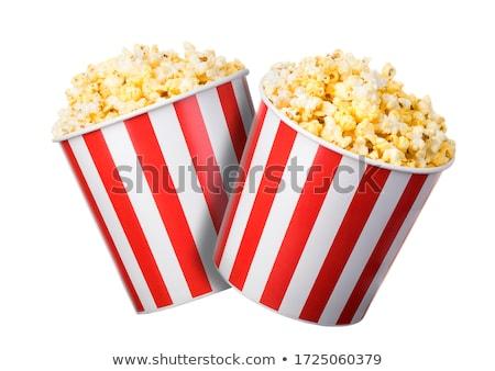 From Corn to Popcorn  Stock photo © ildi