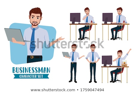 businessman making presentation stock photo © photography33