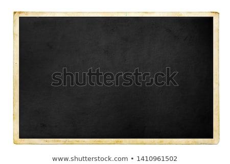 öreg fénykép fiatalember papír portré férfi Stock fotó © silent47