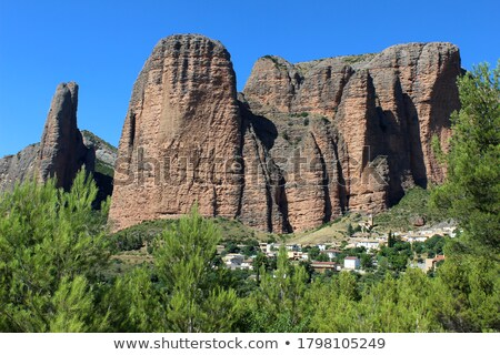 Riglos landscape Stock photo © pedrosala