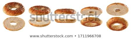 Yalıtılmış beyaz kahvaltı tatlı taze tatlı Stok fotoğraf © shutswis