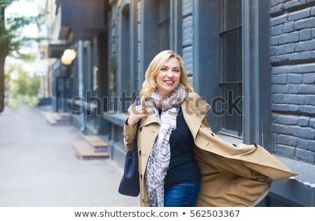Zdjęcia stock: Wesoły · modny · odzież · stwarzające · ręce