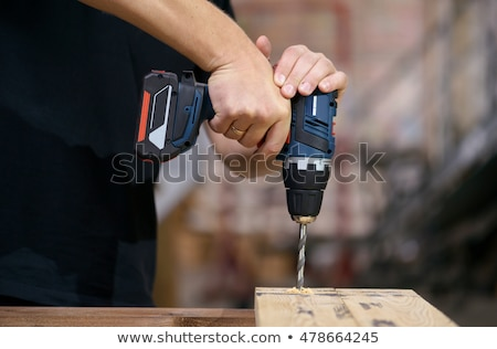 cordless drill stock photo © rogerashford