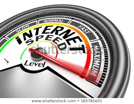 遅く 接続 速度 インターネット 作業 デザイン ストックフォト © dacasdo