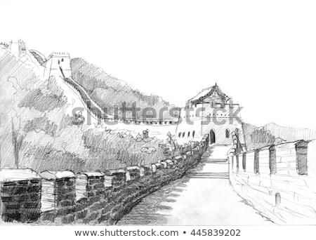 old chinese pencil stock photo © kbuntu