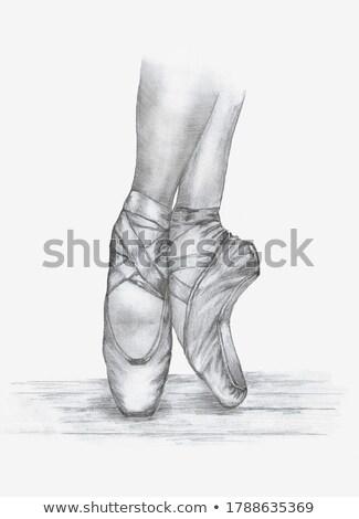 Pointe Shoes Stock photo © hitdelight