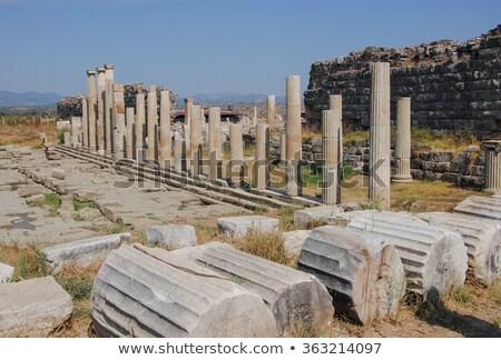 ören eski Roma mimari tarih Stok fotoğraf © emirkoo