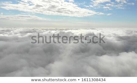 ver · avião · avião · asa · blue · sky · neve - foto stock © phbcz