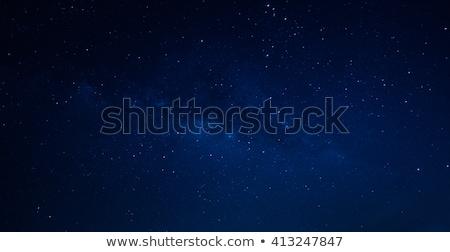 star · gökyüzü · güneş · ışık · toprak · mavi - stok fotoğraf © lightpoet