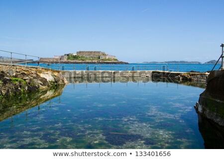 Naturalismo piscina canal praia água Foto stock © chris2766