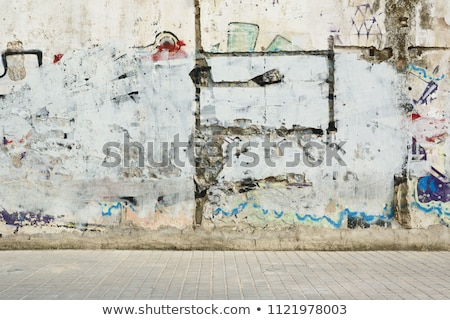 Muur gebouw graffiti kleur abstract achtergrond Stockfoto © mariephoto