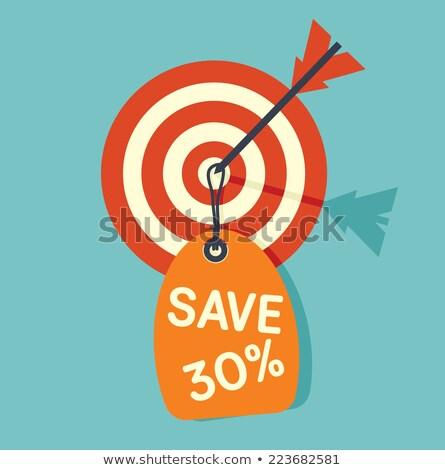 Discount on target Stock photo © fuzzbones0