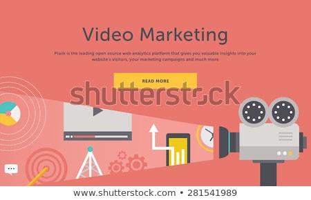 Video camera on books Stock photo © Paha_L