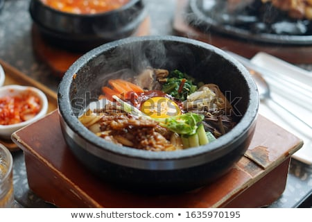 bibimbap Stock photo © M-studio