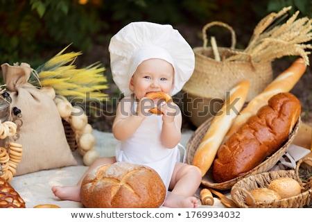 закуска · сыра · ветчиной · огурца · рожь - Сток-фото © ozgur