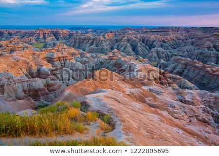 Stock fotó: South Dakota Badlands