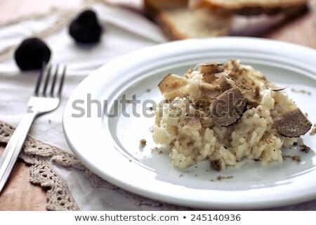 truffles and rice stock photo © cynoclub