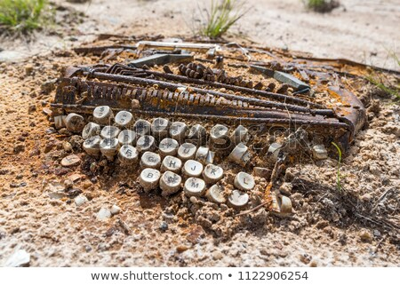 Old typewriter - Venezuela Stock photo © michaklootwijk