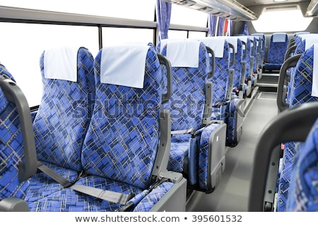 Empty seats on a bus Stock photo © bedo