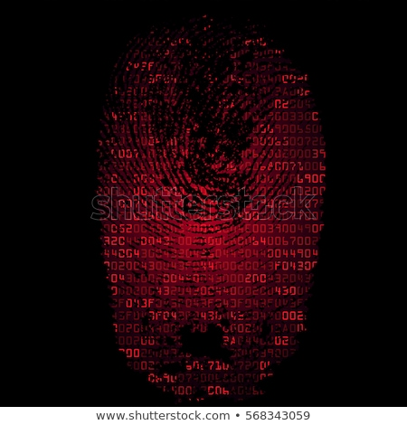 Modern abstract technology background with digital imprinted lay Stock photo © ShawnHempel