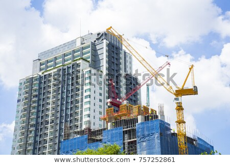 Hi-rise apartment building Stock photo © njnightsky