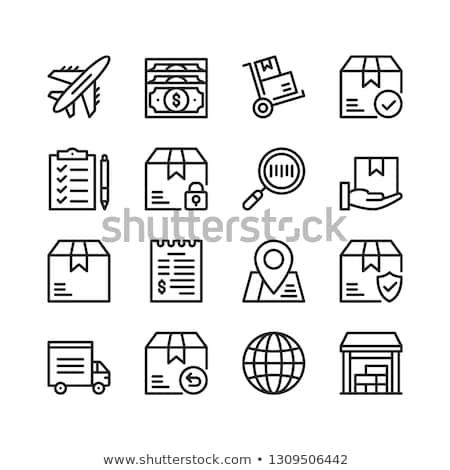 Nagybani eladás ikon terv üzlet izolált illusztráció Stock fotó © WaD