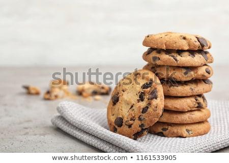 Stack of cookies Stock photo © Hofmeester