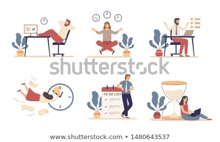 Working time planning Stock photo © simply
