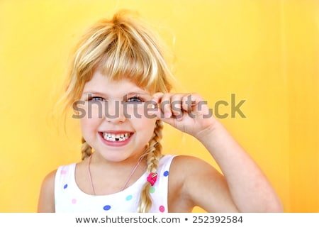 Stock foto: First Missing Tooth