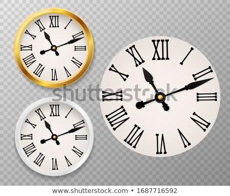 Happiness on Vintage Pocket Clock Face. 3D Illustration. Stock photo © tashatuvango