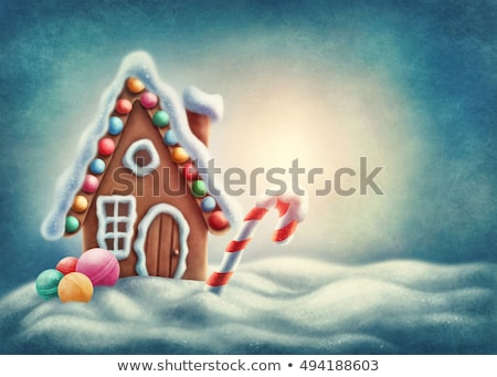 Christmas winter candy sweet snowflakes Stock photo © romvo