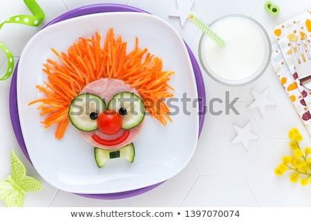 food and fun stock photo © fisher