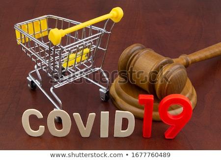 legge · libro · martelletto · consumatore · protezione · servizio - foto d'archivio © andreypopov