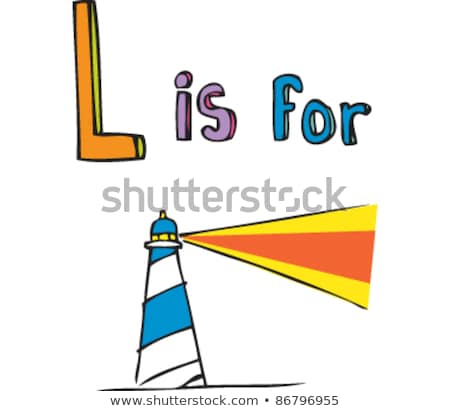 A letter L for lighthouse Stock photo © colematt