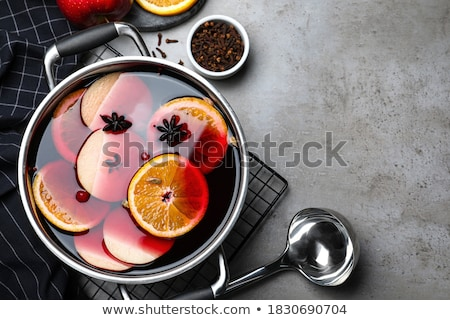 Ingredients for cooking Christmas  mulled wine Stock photo © furmanphoto