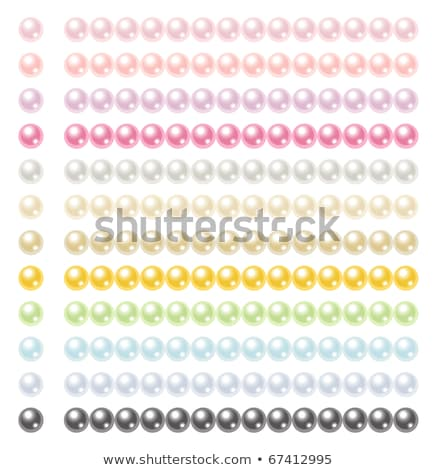 Line of black and pink beads Stock photo © backyardproductions