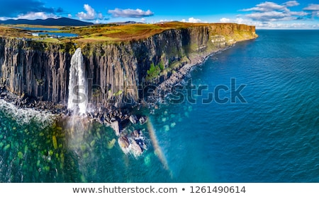 Kilt Rock Waterfall Stock photo © unkreatives