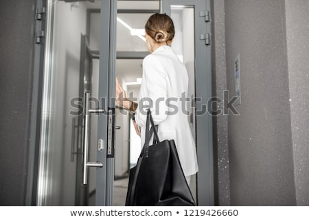 Business Woman Leaving Work Stock photo © nruboc