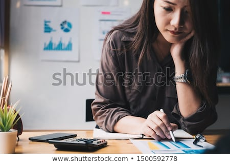 Business Financing Accounting Banking Concept, business woman do Stock photo © Freedomz