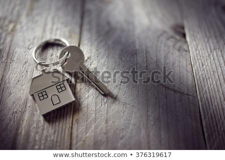 ház · kulcs · kéz · új · otthon · tulajdonos · épület - stock fotó © andreypopov