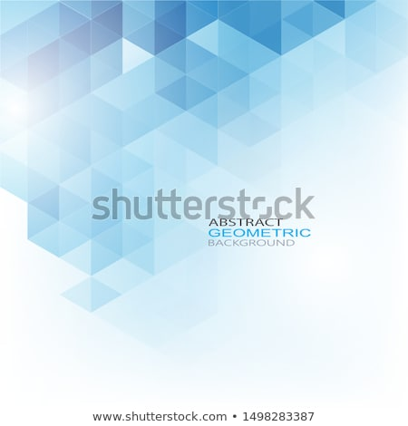 Vector blue background with repeating squares Stock photo © designleo