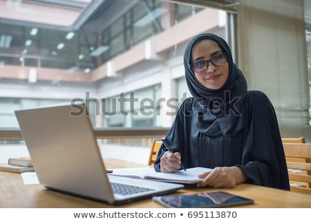Atrakcyjny arabski kobieta Fotografia arabskie Zdjęcia stock © Anna_Om
