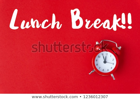 Lunch break concept Stock photo © ivelin