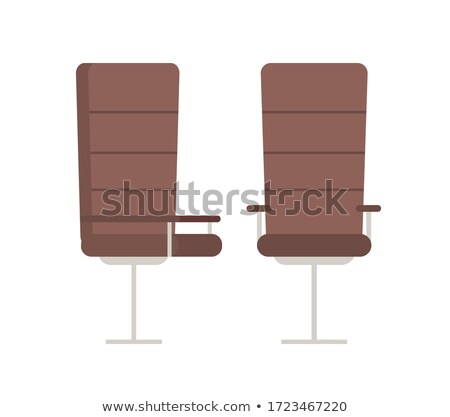 Pair of Boss Armchairs, Comfortable Leather Chairs Stock photo © robuart