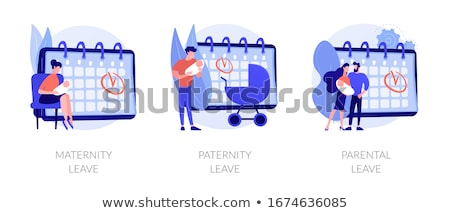 Parental leave abstract concept vector illustration. Stock photo © RAStudio