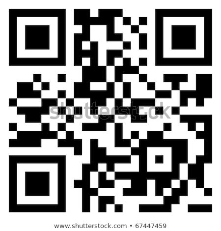 Venda dados qr code moderno código de barras eps Foto stock © beholdereye